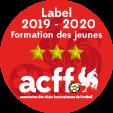logo label 3 etoiles acff